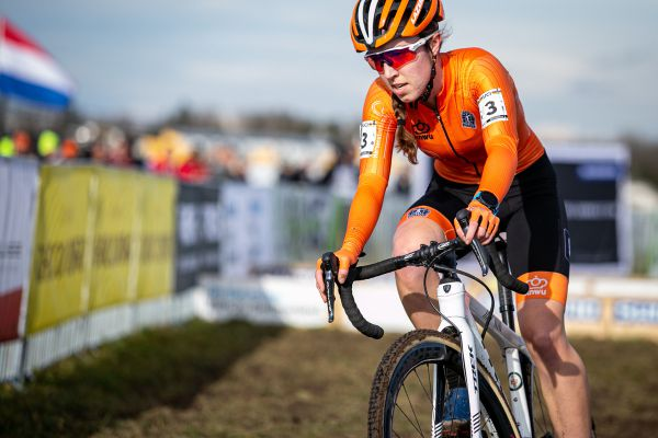 MS Dübendorf 2020 - vítězná juniorka Shirin van Anrooij