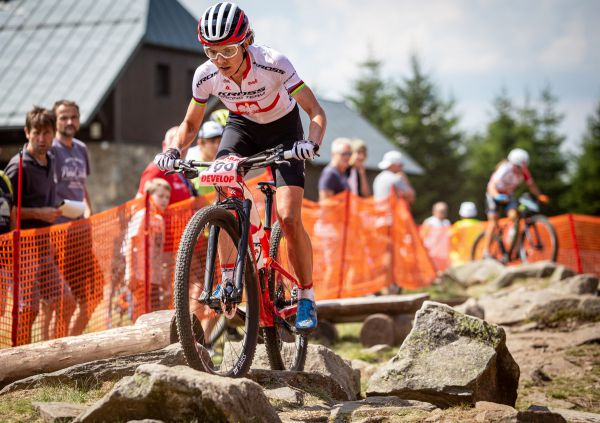 ČP XCO 2020 - Zadov - Maja Wloszczowska a její první závod dokončila na 7. místě, příští týden jí čeká mistrovství Polska