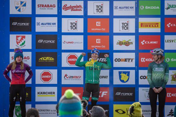 Mistrovství ČR cyklokros - Jabkenice 2021