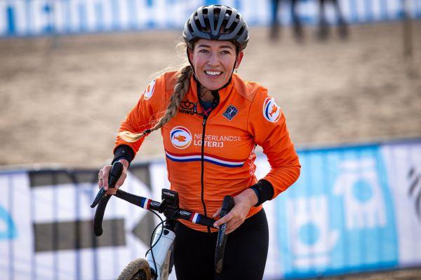 MS Oostende 2021 - trénink - Sophie de Boer