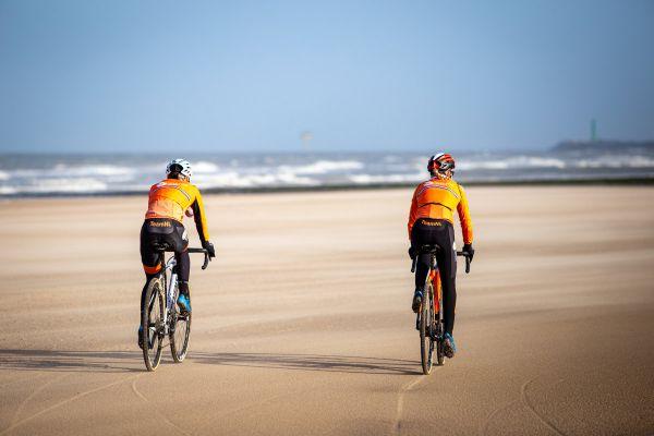 MS Oostende 2021 - trénink - Annemarie Worst vpravo, kdo je vlevo nevíme :-)