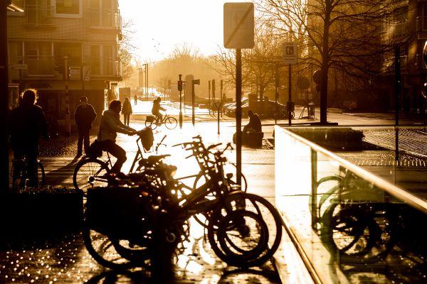 Východ slunce v Oostende