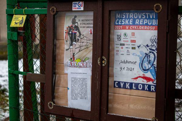 MČR Cyklokros 2021 - Jabkenice - trénink