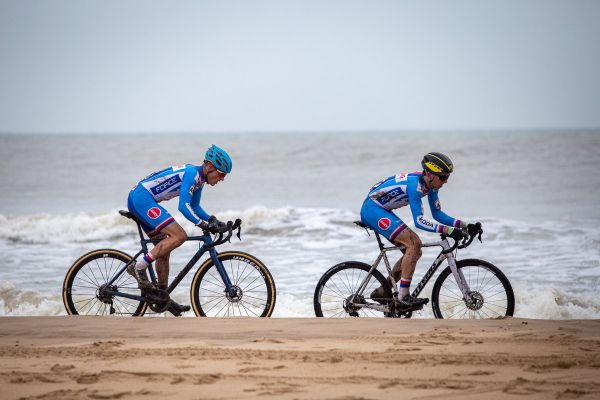 MS Cyklokros 2021 - Jakub Říman a Robert Hula