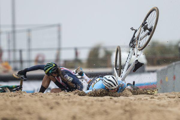 Sanne Cant spadla v prvním kole 3x ...