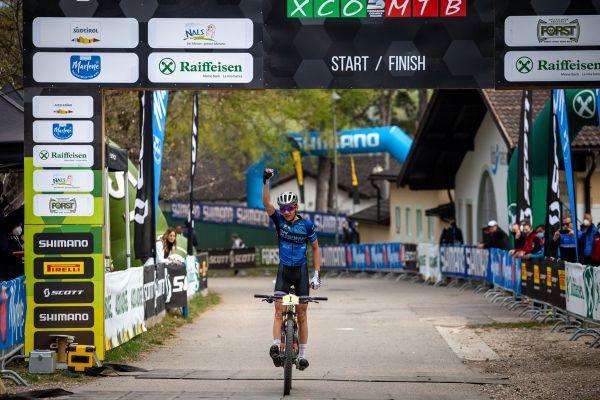Nalles 2021 - vítěz kategorie juniorů Adrien Boichis