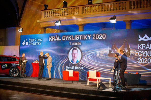 Král cyklistiky 2020 - korunovace Tomáše Bábka