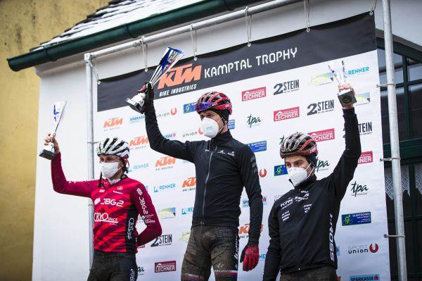 Kamptal Trophy 2021 - 1. Ondra, 2. Krzysztof, 3. Bartlomiej