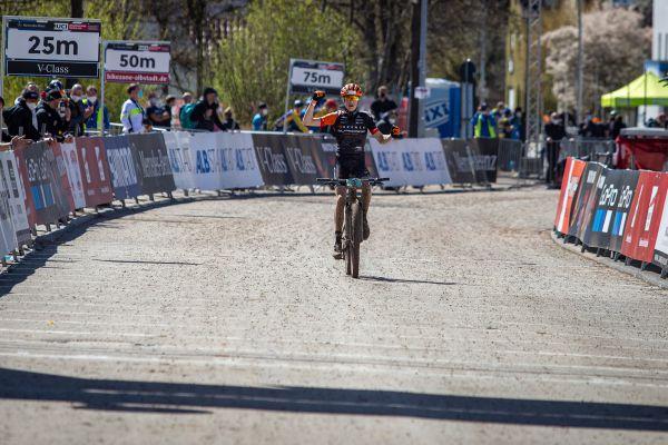 Albstadt '21 - juniors - vítěz Finn Treudler ze Švýcarska