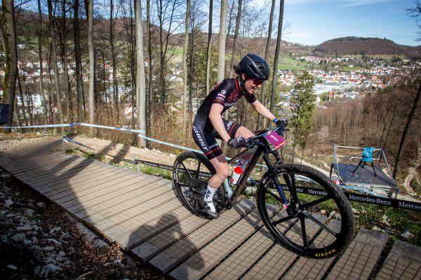Albstadt '21 - U23 - stříbrná Caroline Bohe