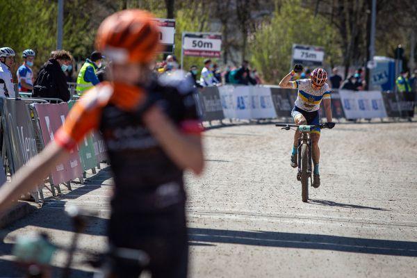 Albstadt '21 - juniors - Hudyma skončil druhý
