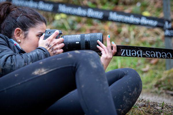 Albstadt 21 - trénink - každá fotografka v jinak mužském prostředí je osvěžení