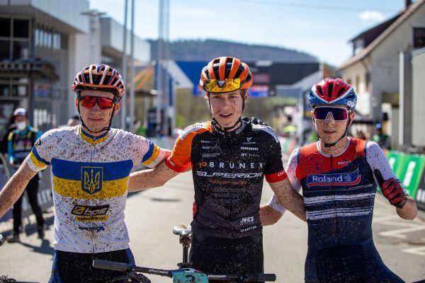 Albstadt '21 - juniors - trojice nejlepších juniorů