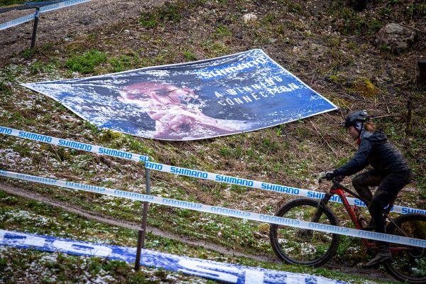 SP Albstadt 2021 - trénink #2 - Mathieu pomalu taje