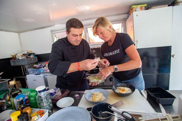 SP Les Gets 2021 - Fred vařil pro belgického krále, nyní se stará o hladové krky ve Specialized