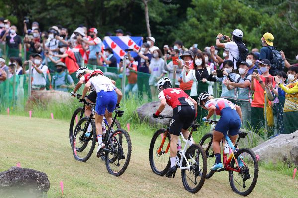 OH Tokio 2020 - horská kola měla štěstí, mohla na ně část diváků