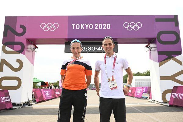 OH Tokio 2020 - Bart Brentjens a Julien Absalon, vítězové OH 1996, 2004 a 2008