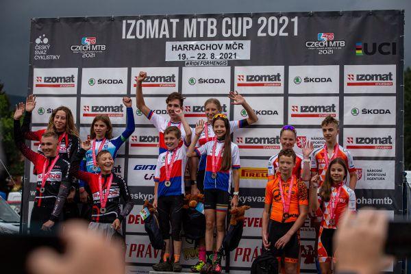 Mistrovství ČR XCO - Harrachov 2021 - štafety