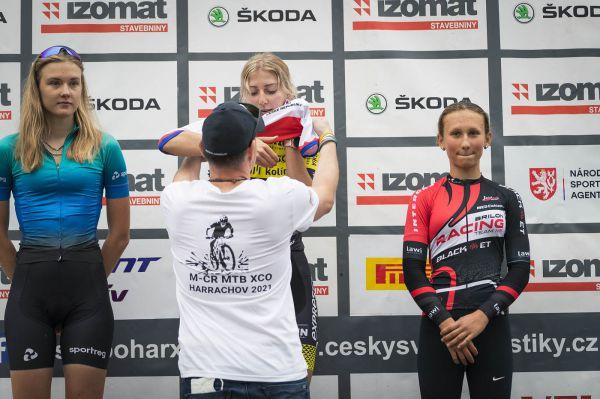 Mistrovství ČR XCO - Harrachov 2021 - short track