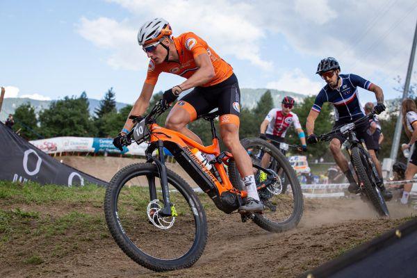 MS 2021 - e-MTB - nejrychlejší start měl čerstvý mistr Evropy ve sprintu Jeroen van Eck