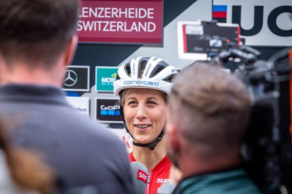 SP Lenzerheide 2021 - Jolanda v zajetí švýcarských médií