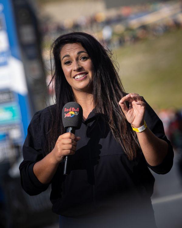 SP Lenzerheide 2021 - letos nová reportérka Red Bull TV Lauren Smith