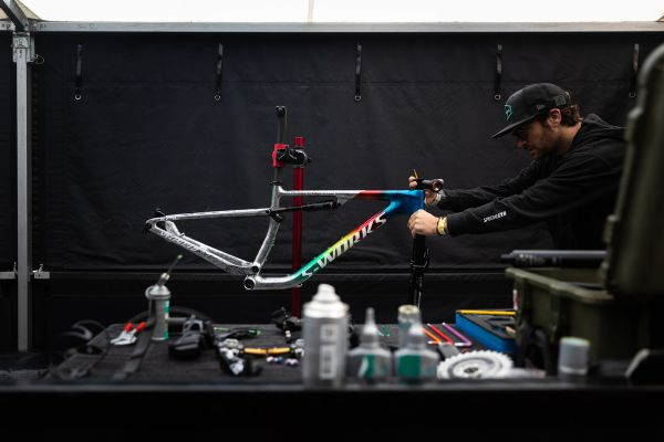SP Lenzerheide 2021 - nový bike pro Sinu Frei