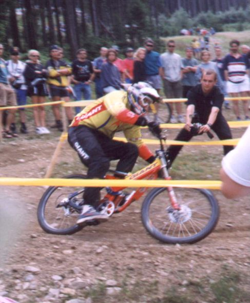 ME Downhill 1998 Rob Warner
