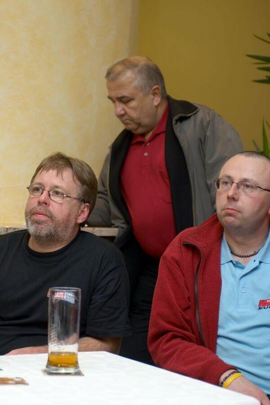 Radek Patrák a jeho parta okolo Malevilu nemůže chybět prostě nikde - Vyhlášení Galaxy Anlen MTB série  a Jihočeské amatérské ligy v Písku, 2006