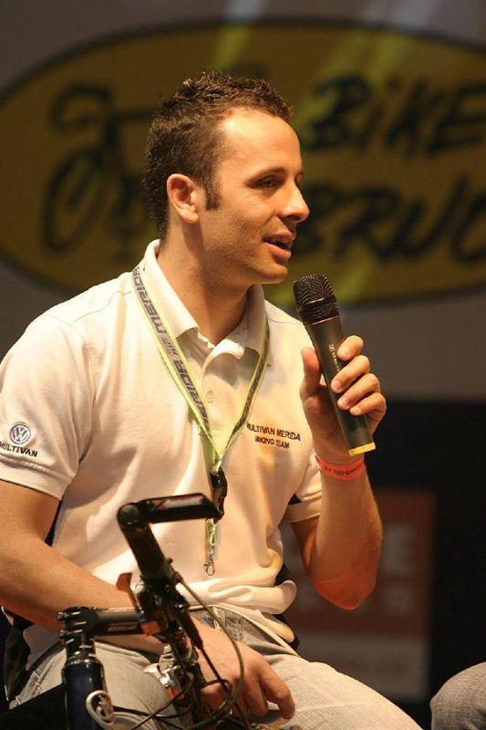 Jose Antonio Hermida Ramos - Jose při rozhovoru na veletrhu Sport Life 2006