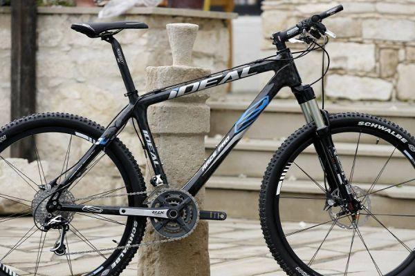Kypr 4.-5.11.2006 - nový týmový bike - Carbon Team Pro od Ideal Bikes