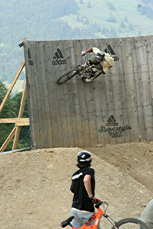 Adidas Slopestyle 2006 Cedric Gracia