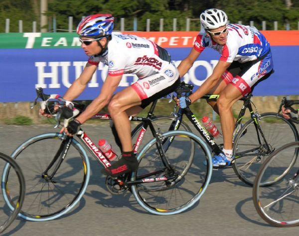 Giant Liga - Plzeň Lopatárna, 11.4.2007, J. Ježek a Bubílek, foto: www.bikerace.cz
