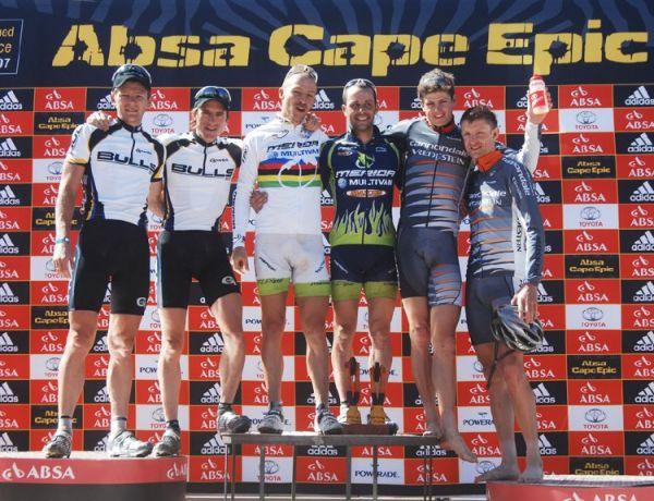 Cape Epic 2007 - 4. etapa stupně, foto: Frank Bodenmüller/MTBSector.com