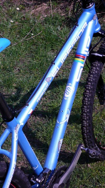 Nový bike 07 Terezky Huříkové