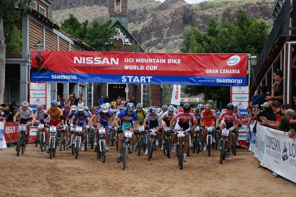 SP MX no. 1 - Gran Canaria - start