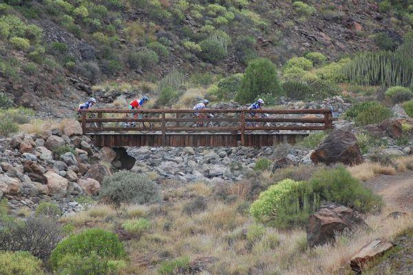 SP MX no. 1 - Gran Canaria - vedoucí kvarteto na 15. km