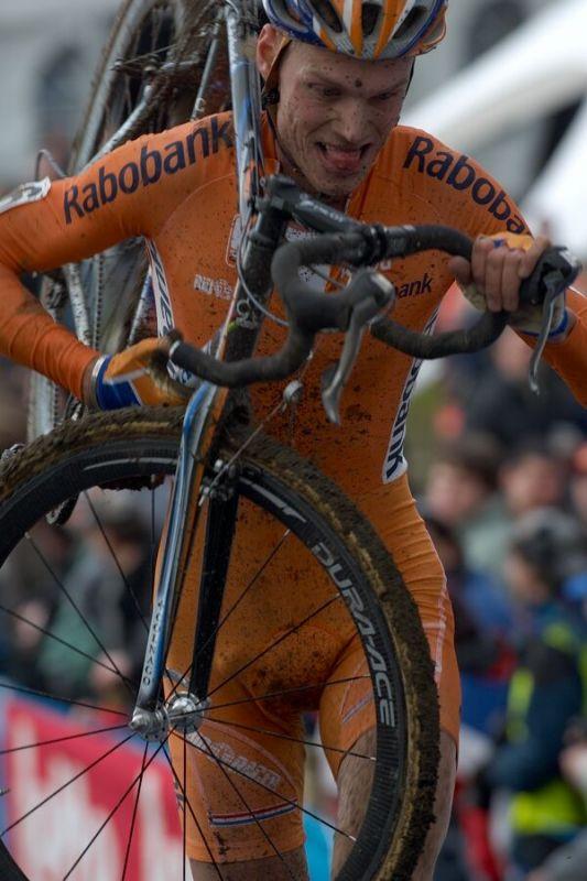 Lars Boom /NED/ - Mistrovství světa v cyklokrosu 2007, Hooglede, BEL - kat. pod 23 let