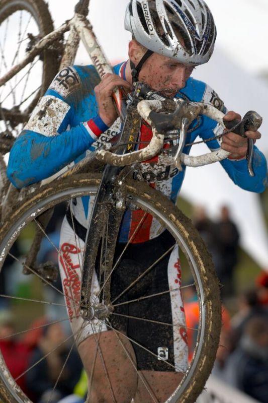 František Klouček - Mistrovství světa v cyklokrosu 2007, Hooglede, BEL - kat. pod 23 let