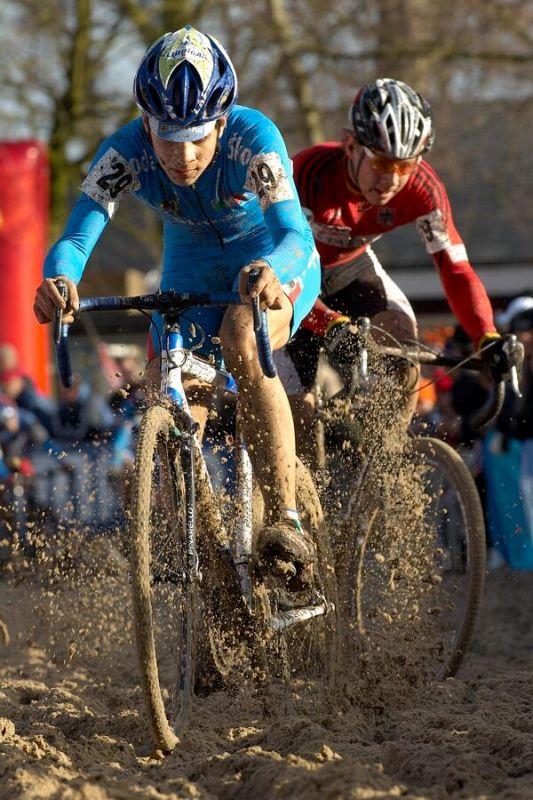 Kevin Leveghi /ITA/ - Mistrovství světa v cyklokrosu 2007, junioři - Hooglede-Gits, Belgie