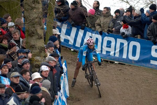 Francesca Cucinello /ITA/ - MS cyklokros 2007, Hooglede-Gits (BEL)
