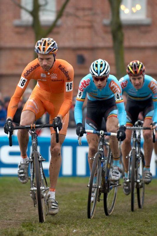 Gerben De Knecht /NED/ - MS cyklokros 2007, Hooglede-Gits (BEL)