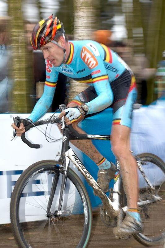 Erwin Vervecken /BEL/ - MS cyklokros 2007, Hooglede-Gits (BEL)