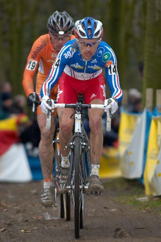 John Gadret - MS cyklokros 2007, Hooglede-Gits (BEL)