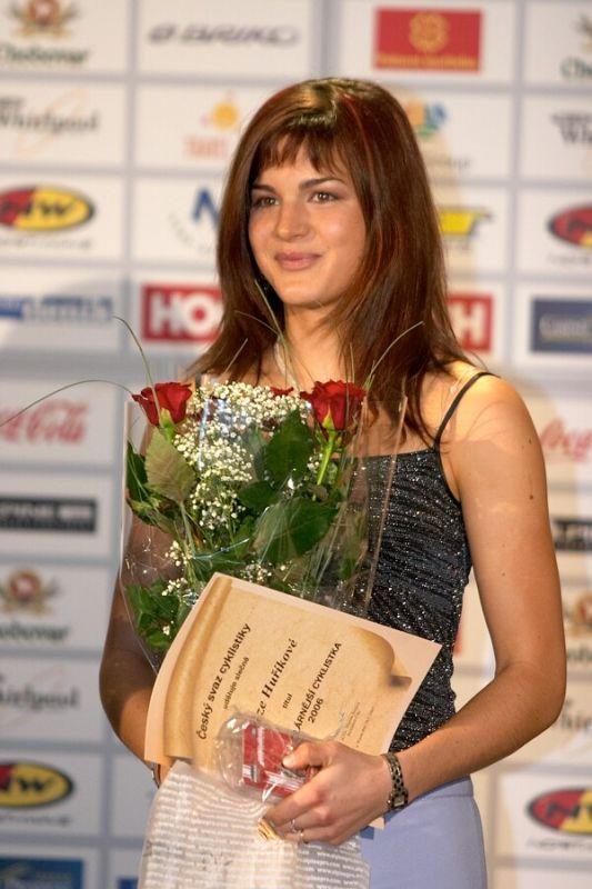 Slavnostní vyhlášení Krále cyklistiky 2006, 18.1. Praha - Hotel President - Miss cyklistiky a zároveň nejsympatičtější cyklista roku 2006 2006