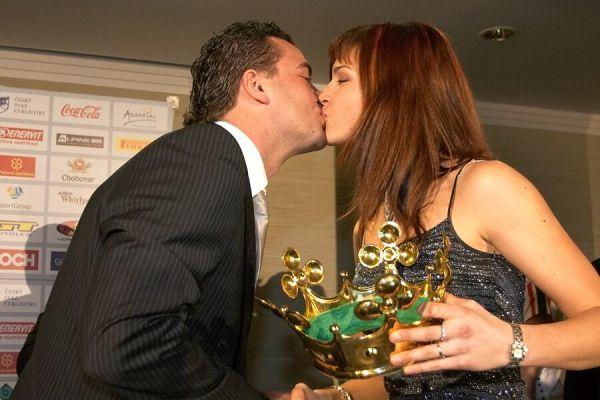 Slavnostní vyhlášení Krále cyklistiky 2006, 18.1. Praha - Hotel President - no tak to je kissanec, pane jo!