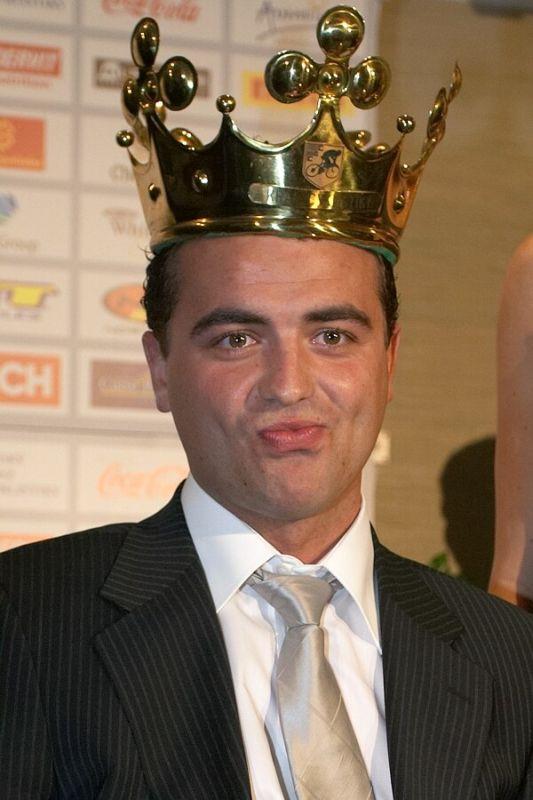 Slavnostní vyhlášení Krále cyklistiky 2006, 18.1. Praha - Hotel President - sladký pocit Krále