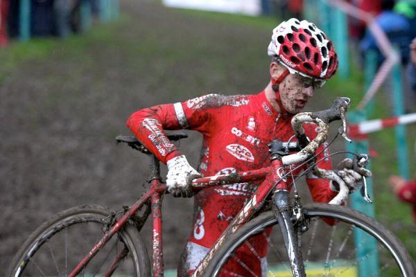 Mistrovství České republiky v cyklokrosu - 6.1. 2007 - Č. Lípa - Lukáš Klouček