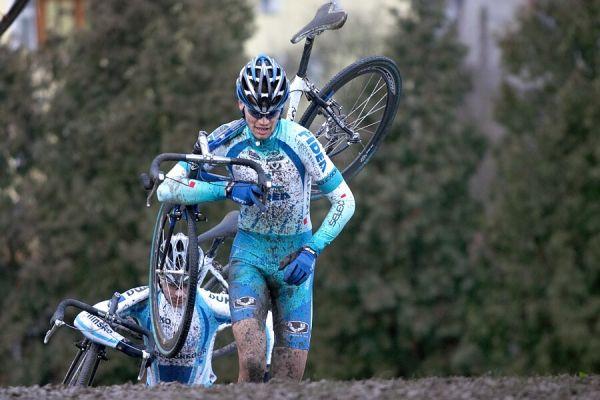 Mistrovství České republiky v cyklokrosu - 6.1. 2007 - Č. Lípa - Petr Dlask