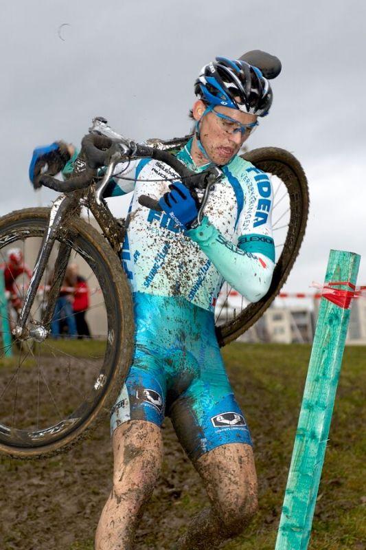 Zdeněk Štybar (Fidea) - Mistrovství republiky v cyklokrosu 2007, Česká Lípa